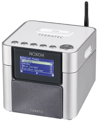 TerraTec Noxon 2 internet radio and iPod dock