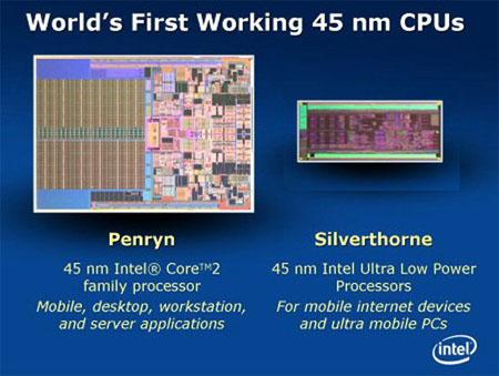 Intel Silverthorne die