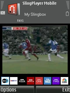 SlingPlayer Mobile for S60