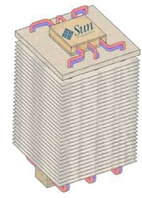 Illustration of heatsink