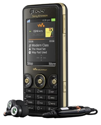 Sony Ericsson W660i mobile phone