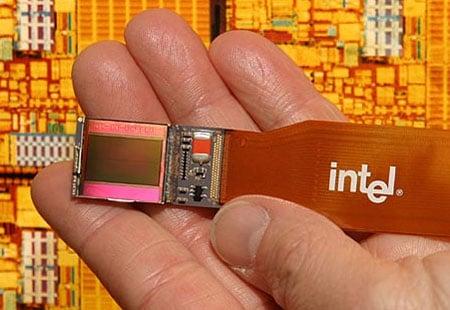 Intel's LCoS chip
