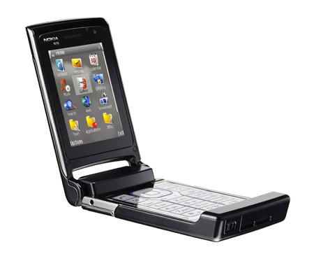 Nokia N76 mobile phone handset
