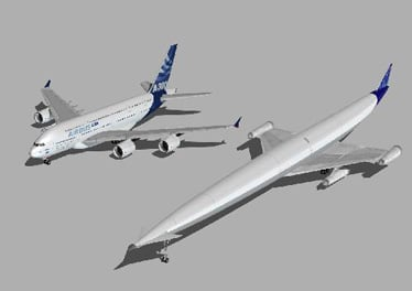 A2 hyperliner vs A30 superjumbo