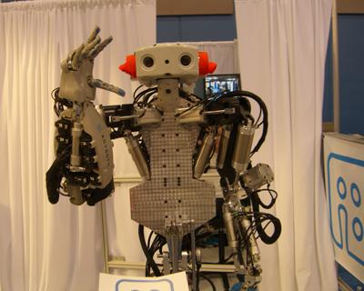 Monty the robot