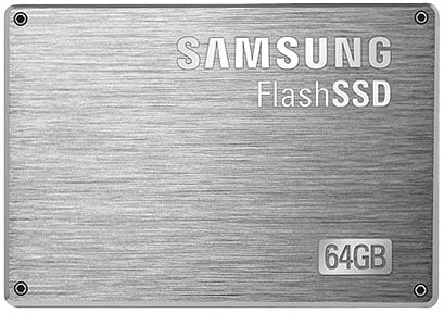 Samsung 64GB 2.5in SATA II SSD
