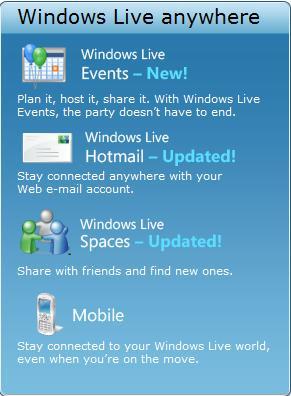 Windows Live Online Services