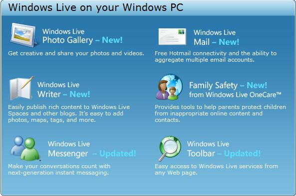 Windows Live On Your PC