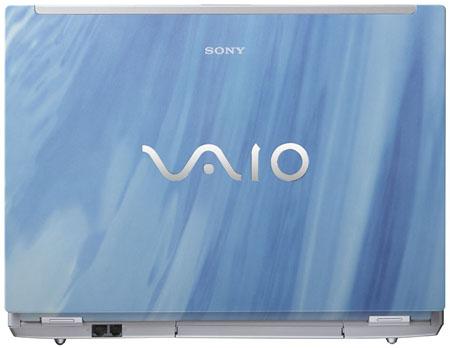 Sony 'Caribbean Water' Vaio FZ