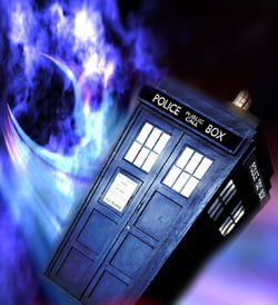 train tardis relative dimensions space