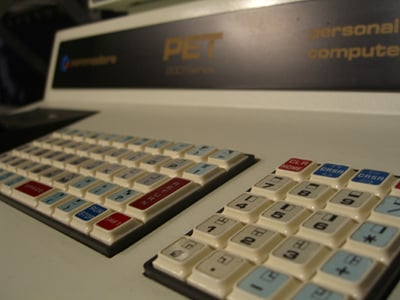 commodore PET 2001 keyboard