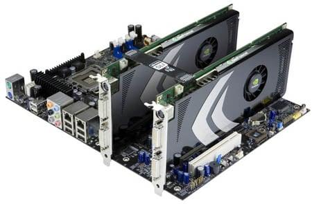 Nvidia GeForce 8800 GT in SLI