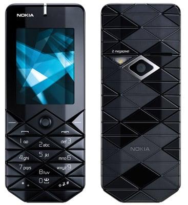 Nokia 7500 Prism mobile phone handset