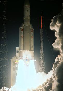 Ariane V launching Skynet