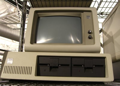 IBM PC front shot