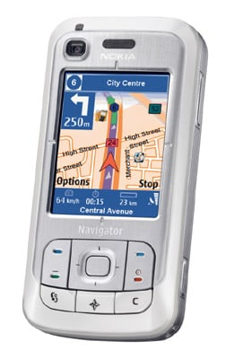 Nokia 6110 Navigator smartphone