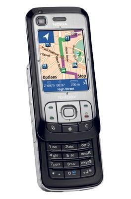 Nokia 6110 Navigator smartphone