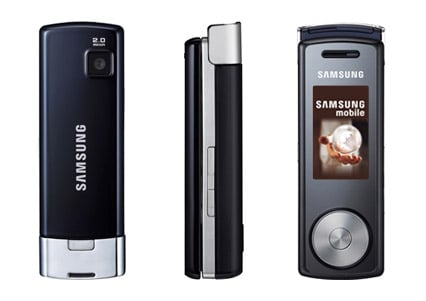 Samsung F210 music mobile phone