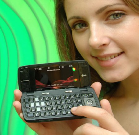 LG VX10000 Voyager messaging phone