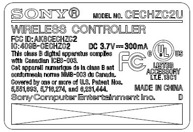 Dualshock_FCC_label