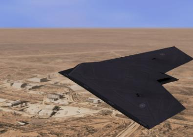 The Taranis droid stealth bomber