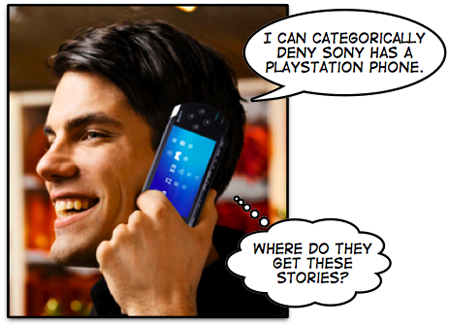 No PlayStation phone, says Sony