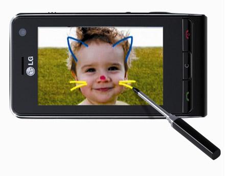 LG KU990 Viewty mobile phone