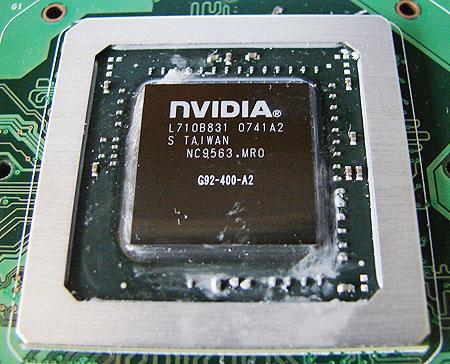 Nvidia GeForce 8800 GTS - G92 version