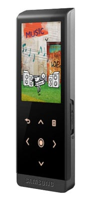 Samsung YP-T10 MP3 player