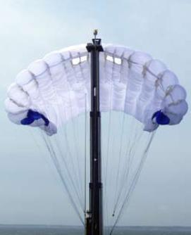 Skysail unfurling automatically