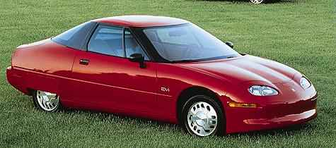 GM's EV1 Electric Car
