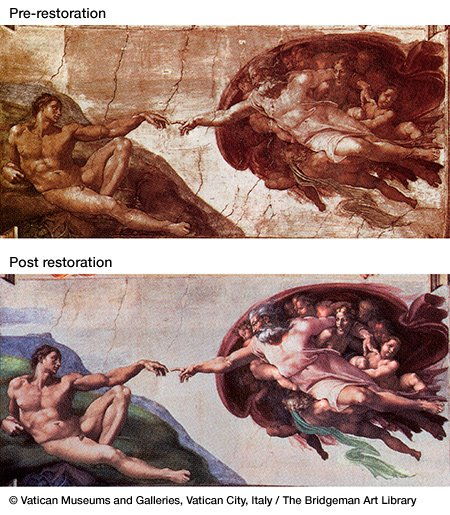 The Sistine Chapel restoration