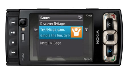 Nokia N95 8GB smartphone