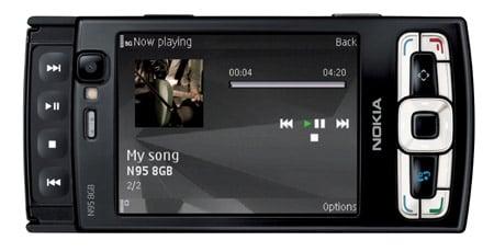 Nokia N95 8GB smartphone