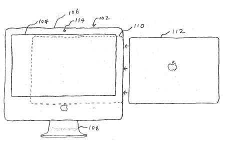 Apple 'iMac' docking station patent application