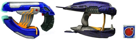 Halo 3 plasma weapons from Jasman Toys