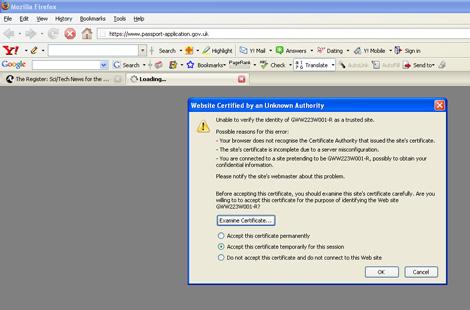 IPS secondary site snafu