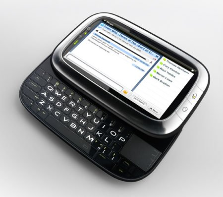 Intel Mobile Internet Device running Skype