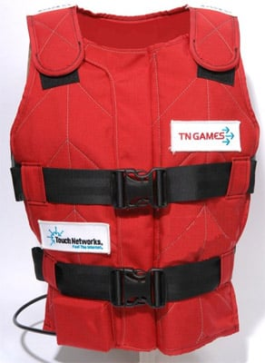 TN Games 3rd Space GFR sensory gaming (racing) vest