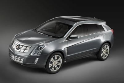 The Cadillac Provoq concept car