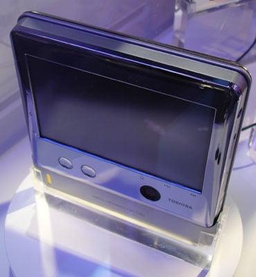 Toshiba fuel cell UMPC