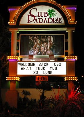 Club Paradise welcomes back CES