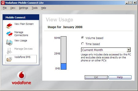 Vodafone USB Modem 7.2 on XP