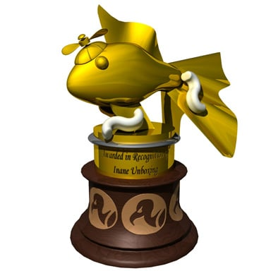The Golden Goldfish Award - Click to enlarge