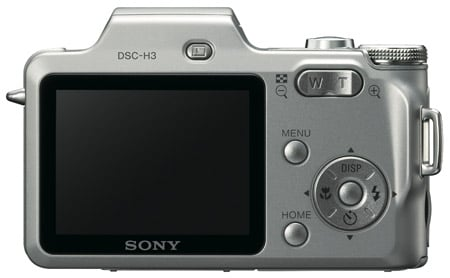 Sony DSC-H3 digital camera