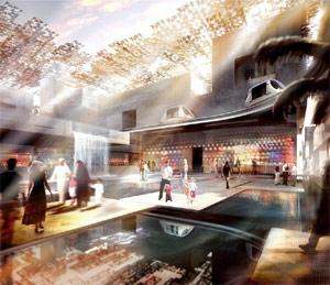 Artist's impression of Masdar. Image: Foster + Partners