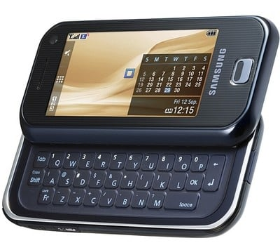 Samsung SGH-F700 mobile phone