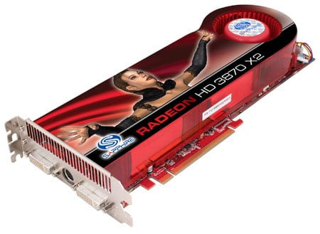 Sapphire ATI Radeon HD 3870 X2
