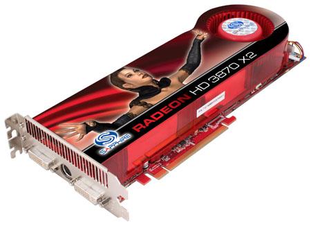 Sapphire ATI Radeon HD 3870 X2