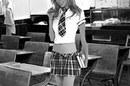 Ryanair advert featuring saucy schoolgirl